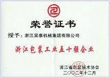 50 Strongest Package Pruduce Group of Zhejiang