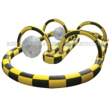 Outdoor Mega Rally Race Track for Zorb Game, Go Karts