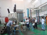 Factory acceptance test- clients and engineers in workshop