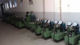 Factory for prestressing machines