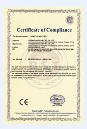 Spiral & U type Lamps with CE-EMC&LVD Certificates