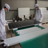 Assembling The Frame of Solar Panel