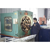 Workshop of Insulator(pressure for end fitting of insulators)