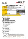 SUPPLIER ASSESSMENT REPORT 2
