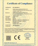 CE certificate of street light