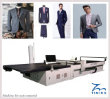 Machine for suit material