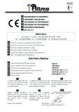 CE certificate of butt fusion machine (Ritmo)