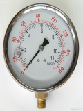 Temperature pressure gague, Temperature and Pressure Gauges