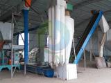 Nigeria 3t/h wood sawdust pellet production line