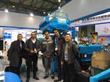 2016 Shanghai Bauma Exhibiton meeting Iran customers