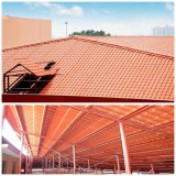 Sythetic Resin Roofing project