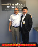 Our President Mr. Lou Songqiao visit Parker Hannifin