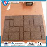 Interlocking Colorful rubber tiles ,Playground rubber tiles