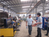 Bulgaria customer come to visit steel wire mesh welding machine