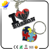 Promotional gifts for coloring effect metal keychain