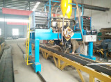 Submerged automatic welding machine for main beam