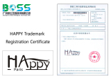 Happy Paris Registration Certificate