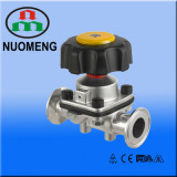 Sanitary Stainless Steel Clamped Diaphragm Valve
