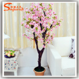 artificial peach tree bonsai