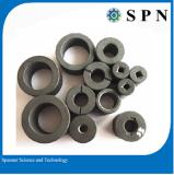 Ferrite anisotropic multipole magnet rings
