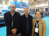 TQL with customers in Eurasia Glass fair 2017 in Istanbul