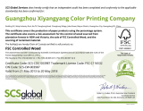 FSC Certificate of XYYPRINT
