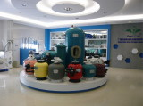 Sand filters display