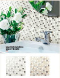Glass +stainless steel tile