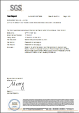 Wood SGS Test Report