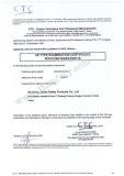 CE Certificate PD8021