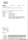 Nylon SGS Test Report