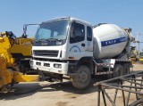 Loading ISUZU Concrete Transit Mixer Truck to port