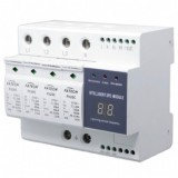 Compact intelligent surge protection device SPD