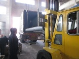 Oil refinery loading