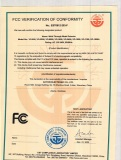FCC Certification for under vehicle search mirror