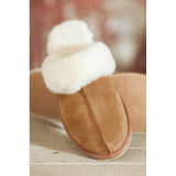Sheepskin slipper