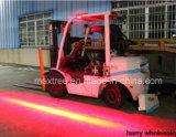 New LED Warning Light Shines Red Stripe on Ground