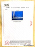 SGS certificate for Y type needle-free connector Page 3, physical performance report