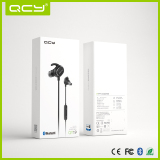 QY19 sport earbud with White gift box packaging