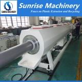 250mm Plastic PVC Pipe Making Machine Testing