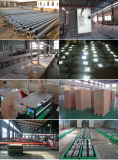 Production of Solar Street Lights
