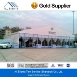 Large Tent with Glass Wall