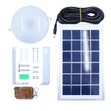 9/18PCS-2835 LED 6V-3W/8W Waterproof&Light Control Solar Lamp with Lifespan15-25years SL1-3W