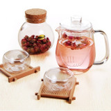 glass tea set / pot / cup