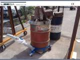 Drum truck inspection