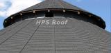 Bond type stone coated roof tile