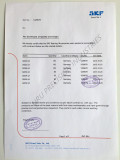 SKF Certificate of origin