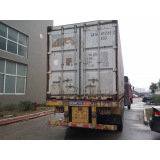 Container come for loading
