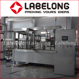 Fresh juice bottle rinsing filling capping machine