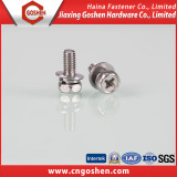 Stainless steel assembly hex machine screw